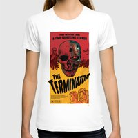 terminator T-shirts featuring The Terminator by Vaughany