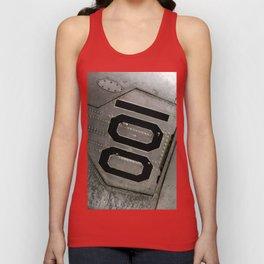 Airplane Mode. Fashion Textures Unisex Tank Top