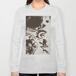 Abstract ink art Long Sleeve T-shirt