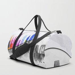 Color New York Skyline 06 Duffle Bag