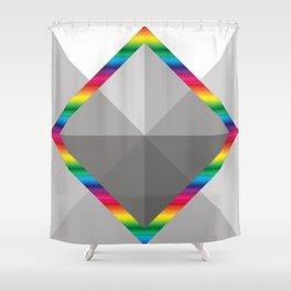 MultiSquare Prism Shower Curtain