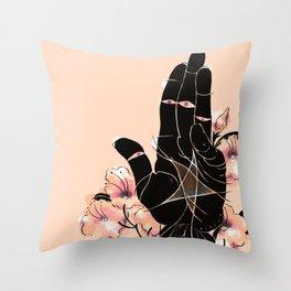 Ace of Pentacles Throw Pillow