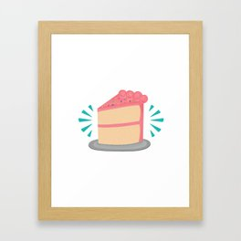 Piece of cake Framed Art Print