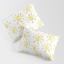 Happy Sunshine Print Pillow Sham