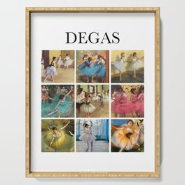 Degas - Collage Serving Tray
