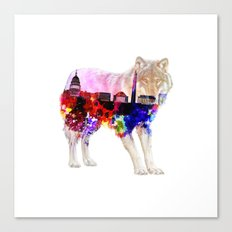 American Wolf Canvas Print