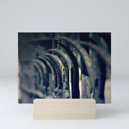 Rustic Fence Mini Art Print