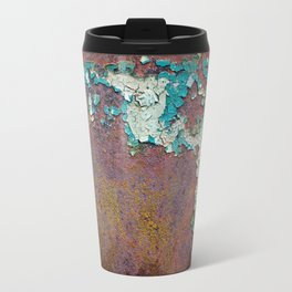 Paint mosaic Travel Mug