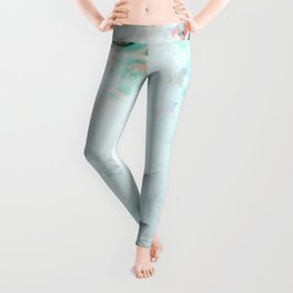Silent Blue Leggings