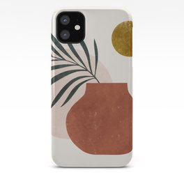 palm and vase iPhone Case