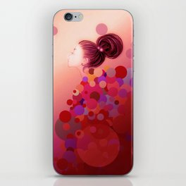Pink○●◎ iPhone Skin