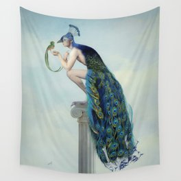 Secrets And Feathers Wall Tapestry