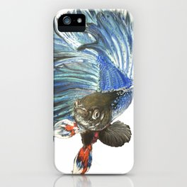 Guppy Electric iPhone Case