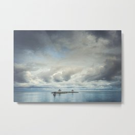 smooth ocean Metal Print