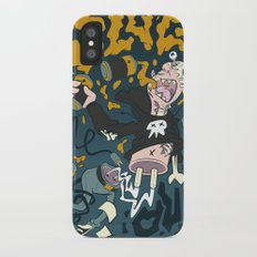 PLUG ME OUT iPhone X Slim Case