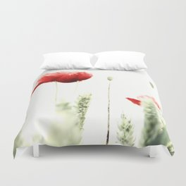 Poppy Poppies Mohn Mohnblume Duvet Cover