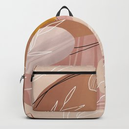 Abstract Peach Backpack