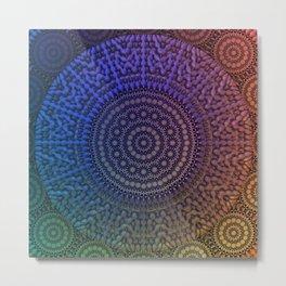 Mandala 43 Metal Print
