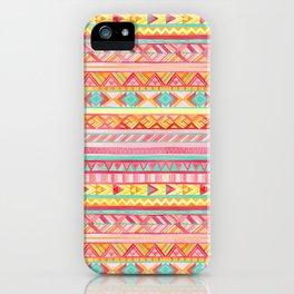 Summer Sun // Geometric Watercolor iPhone Case