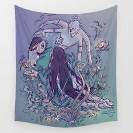 Lifted From the No of All Nothing - Everything Which Is Yes Wall Tapestry