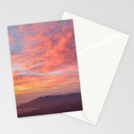 Haleakala Summit Sunset Stationery Cards