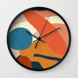 Abstract Art 43 Wall Clock