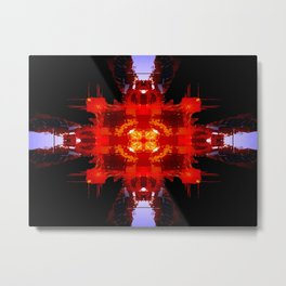 Spaceport Metal Print
