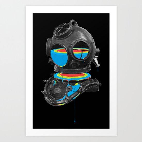 Diver No.12 Art Print
