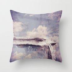 Sky River  Throw Pillow