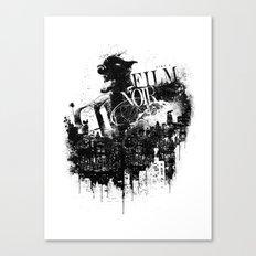 Like a Film Noir Canvas Print