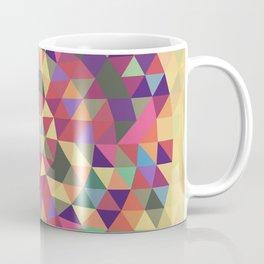 Tribal triangle mandala Coffee Mug