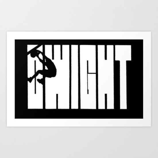 "Dwight Howard's ""Shaq"" Logo Art Print"