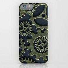 Gold Cogs Slim Case iPhone 6s