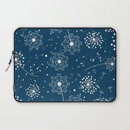 White blew-ball pattern Laptop Sleeve