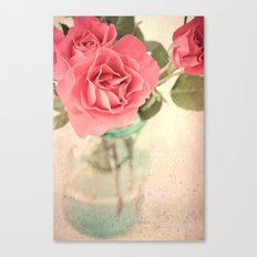 Rosy Outlook Canvas Print