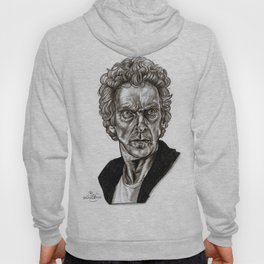 Peter Capaldi - Doctor Who - Drawing Hoody