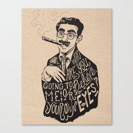 Groucho Canvas Print