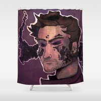 starlord Shower Curtains featuring Starlord by Livvy