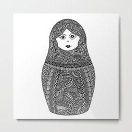 Babooshka Metal Print