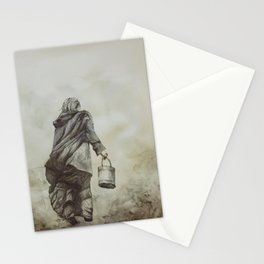 Work and Solitude Stationery Cards