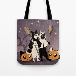 halloween cats Tote Bag