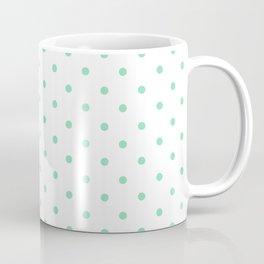 Dotted (Mint & White Pattern) Coffee Mug