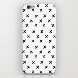 Small Cross Pattern iPhone Skin