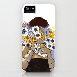Sleep Under the Petals iPhone Case