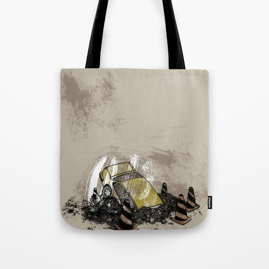 Where is? daddy Tote Bag