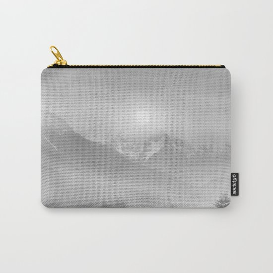 Pastel vibes 11 Black and White Carry-All Pouch