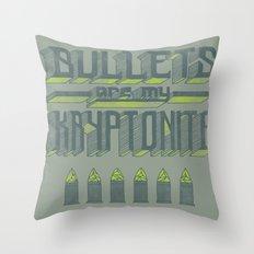 Kryptonite Throw Pillow