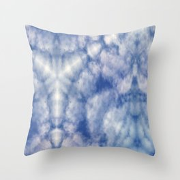 Pattern of clouds 07 Throw Pillow