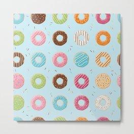 Donut pattern 007 Metal Print