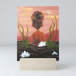 Muddy Lotus Mini Art Print